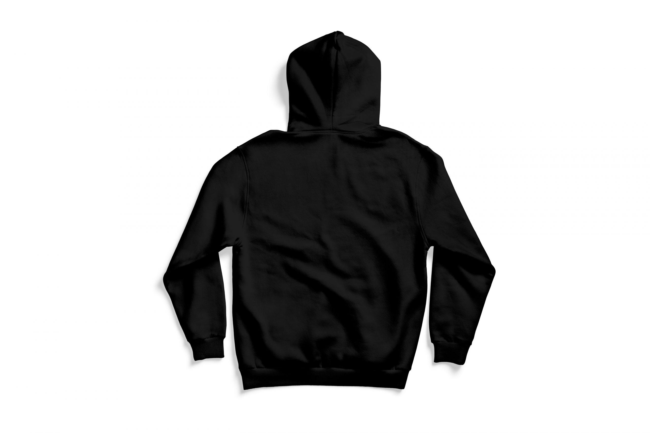Back of 64 Vette hoodie