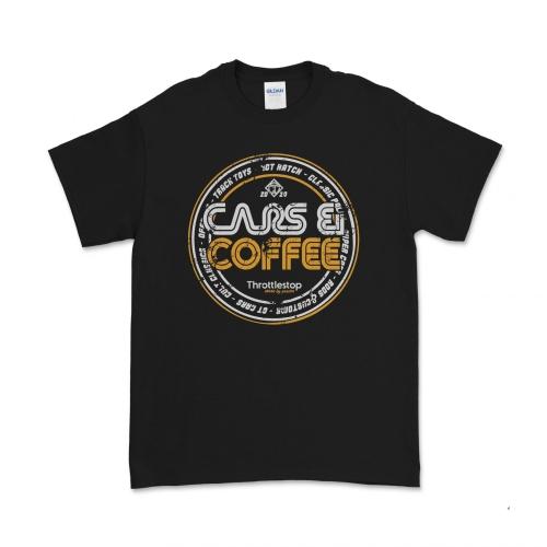 Cars & Coffee Black tee