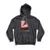 Front of gray 64 Vette hoodie