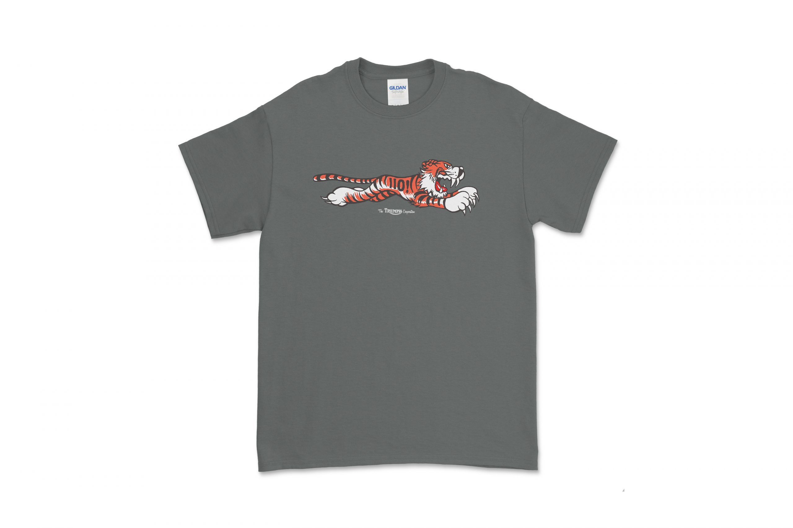 Front of Triumph Tiger tee