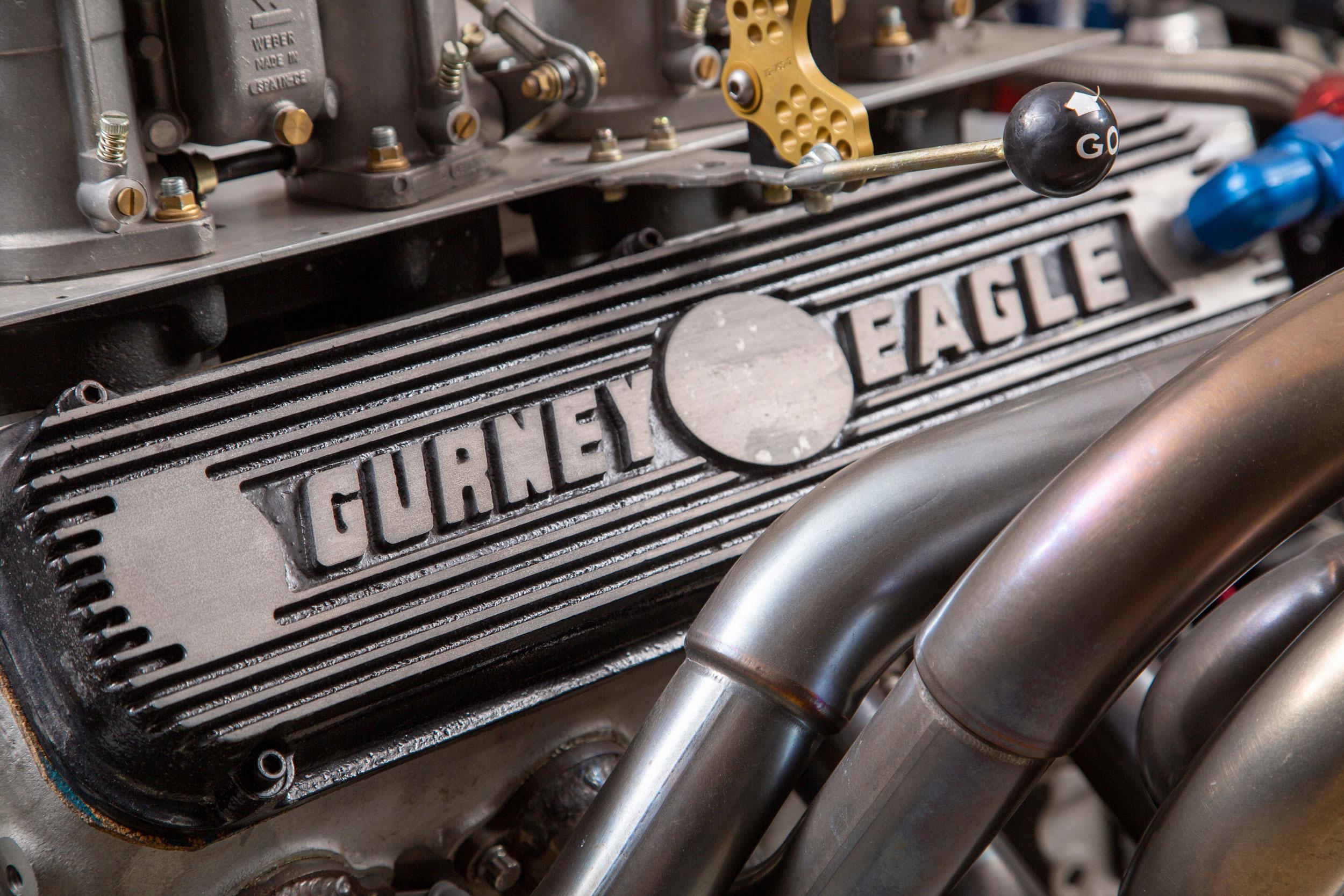 Gurney Eagle engine at Throttlestop