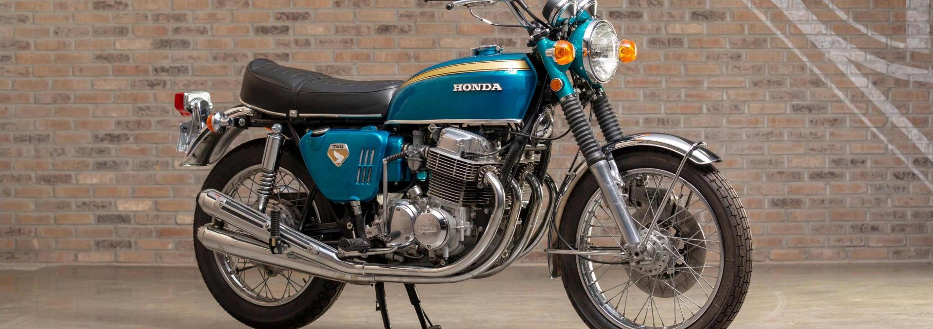 Honda CB 750 at Throttlestop's Motorcycle Museum