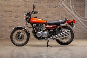 Kawasaki KZ900 at Throttlestop's Motorcycle Museum