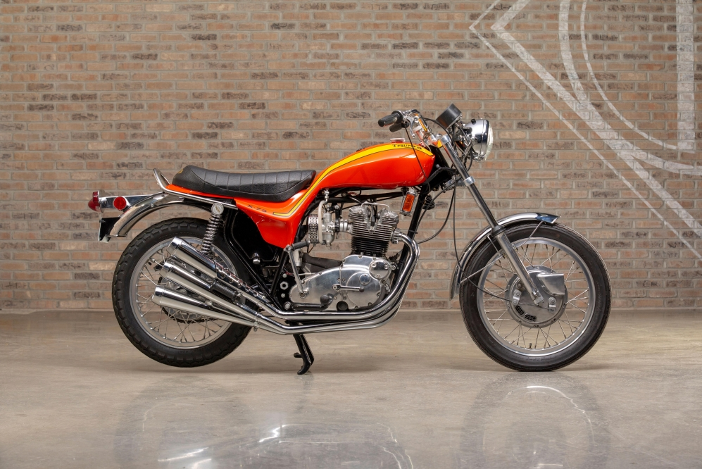 Triumph X75 at Throttlestop's Motorcycle Museum