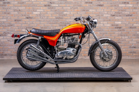 1973 Triumph X75 Hurricane at the Throttlestop Museum
