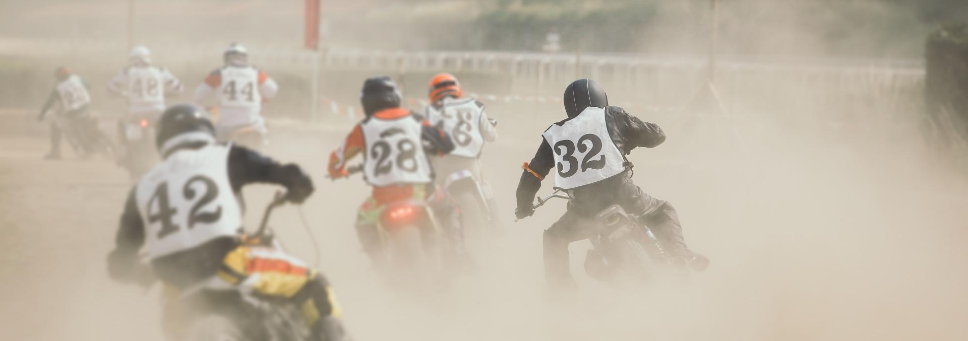 A History of Flat Track Racing - Throttlestop Museum Blog