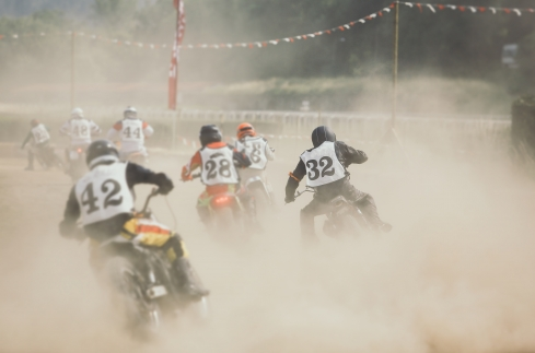 A History of Flat Track Racing - Throttlestop Museum Blog