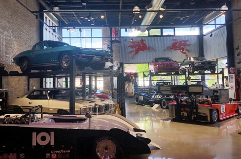Throttlestop Consignment Inventory in their Showroom