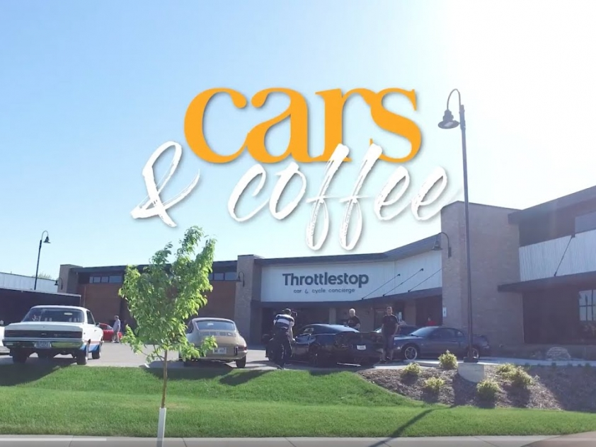Cars & Coffee in front of Throttlestop