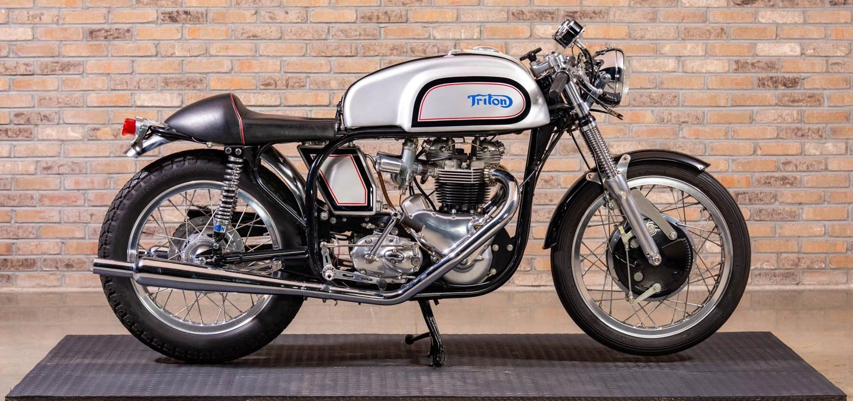 """1959 Triumph T120 Bonneville """"Triton"""