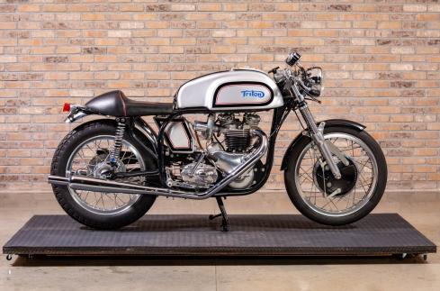 """1959 Triumph T120 Bonneville """"Triton"""" Café Racer"""